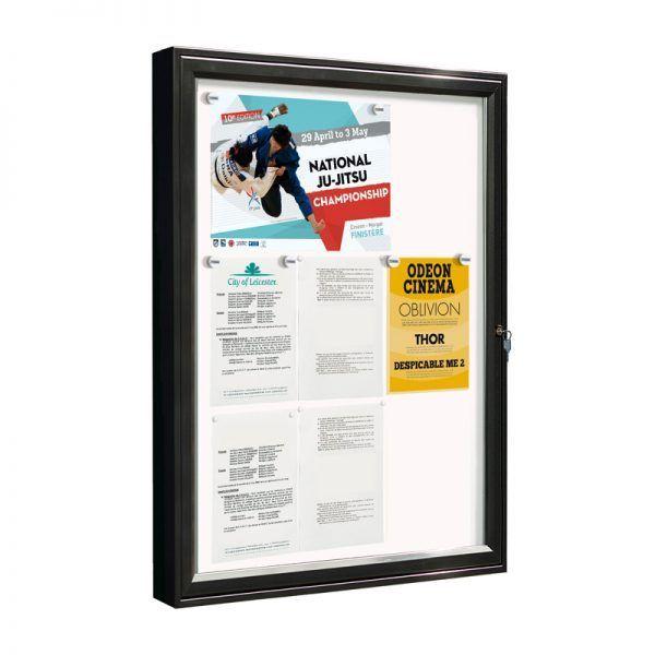 AF58-9A4 aluminium noticeboard