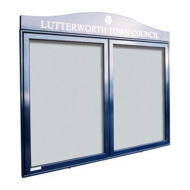 AXDA1 aluminium noticeboard