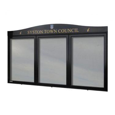 AXTA1 aluminium noticeboard