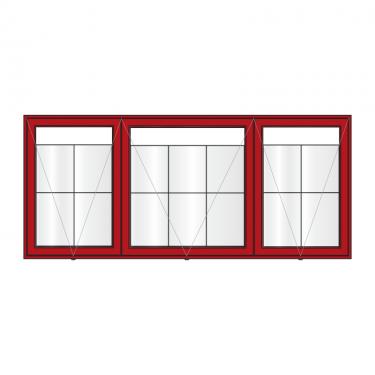 AXTA2-6A4-A2 aluminium noticeboard