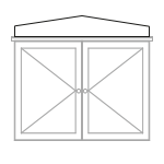 Gable-pattern