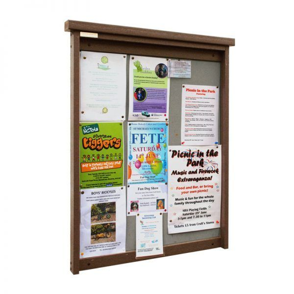 9 x A4 Man-made Timber noticeboard, unglazed