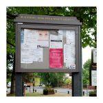 8 x A4 Man-made Timber noticeboard