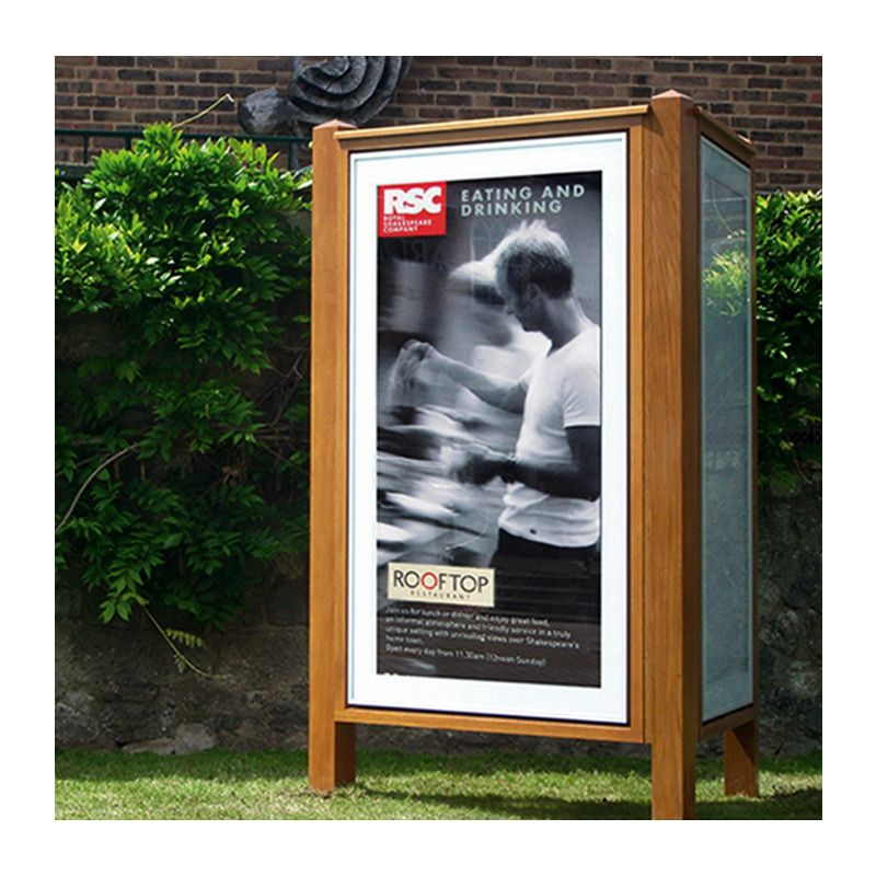 Special projects for schools: Contemporary poster cases for Cranbrook School