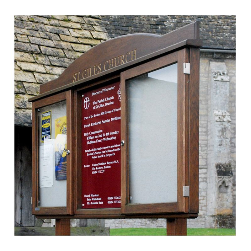 Church Noticeboards, Church Signs, and Poster Cases by