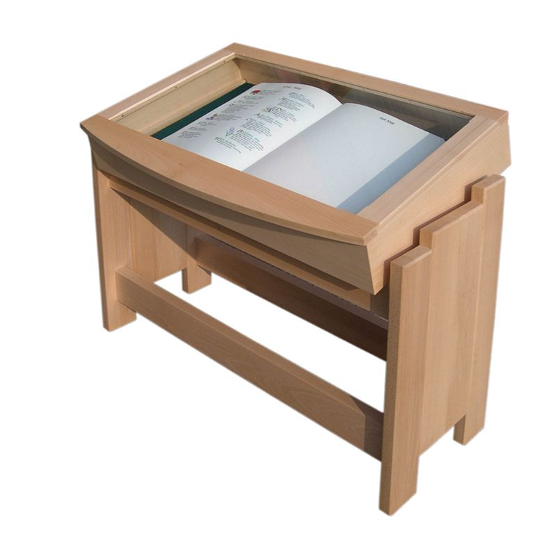 Bespoke oak Book of Remembrance cabinet for Colney Wood Woodland Burial Park, Norwich