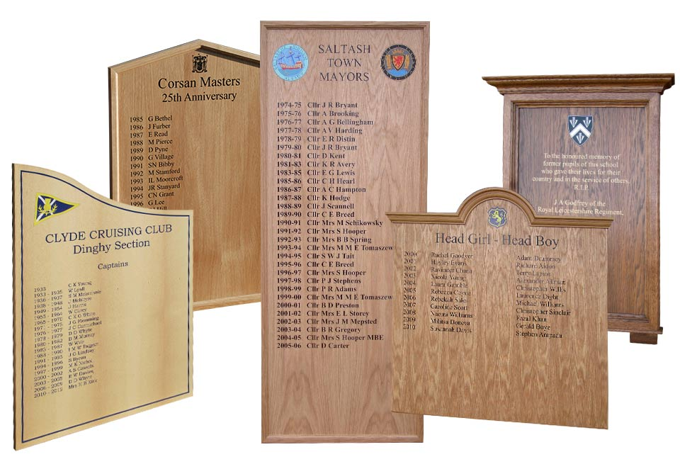 Honours Boards Montage